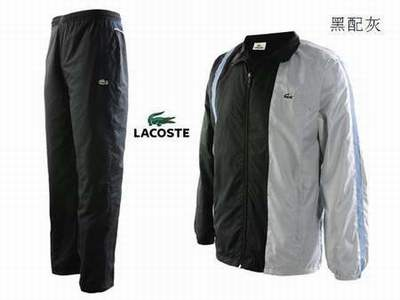 8f9cbec5aa jogging lacoste gris,survetement lacoste femme pas cher noir et or, survetement tennis lotto